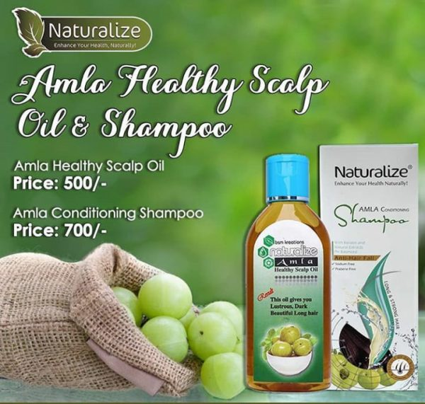 Amla Healthy Scalp Oil & Shampoo