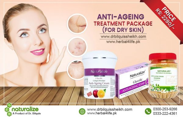 Naturalize Anti Ageing Pack (for Dry Skin)