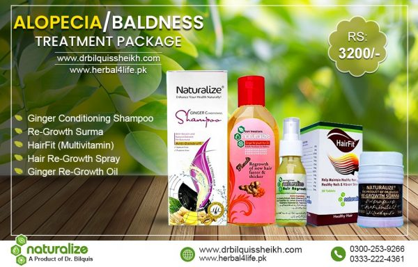 Alopacia /Baldness Treatment Package