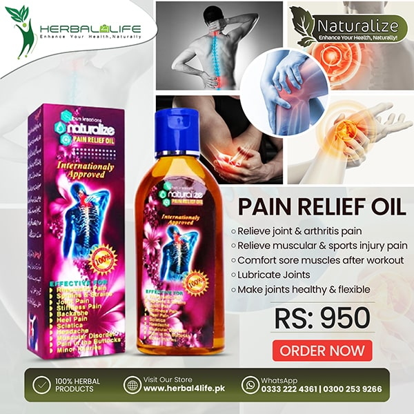 Pain Relief Oil Post