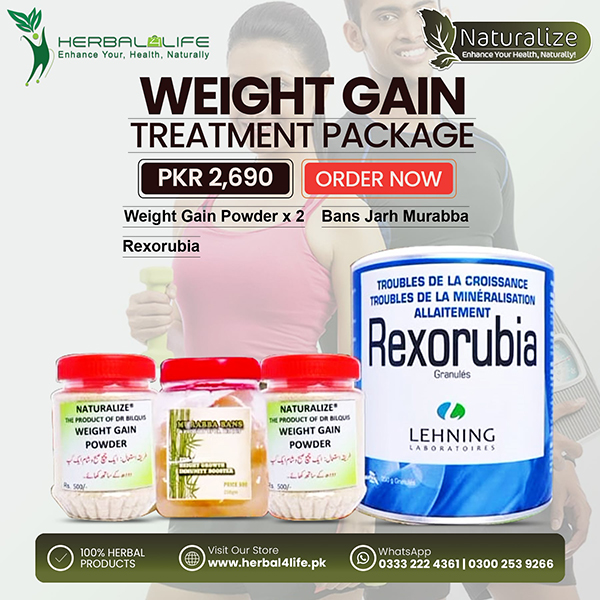 Weight gain Treatment Package Post